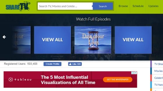 Share TV - watch tv series online free full episodes without downloading
