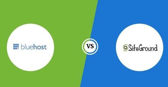Bluehost vs. SiteGround