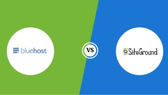 Bluehost vs. SiteGround