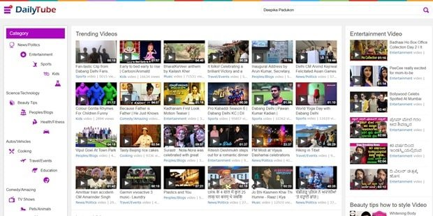DailyTube to Watch Telugu Movie Online