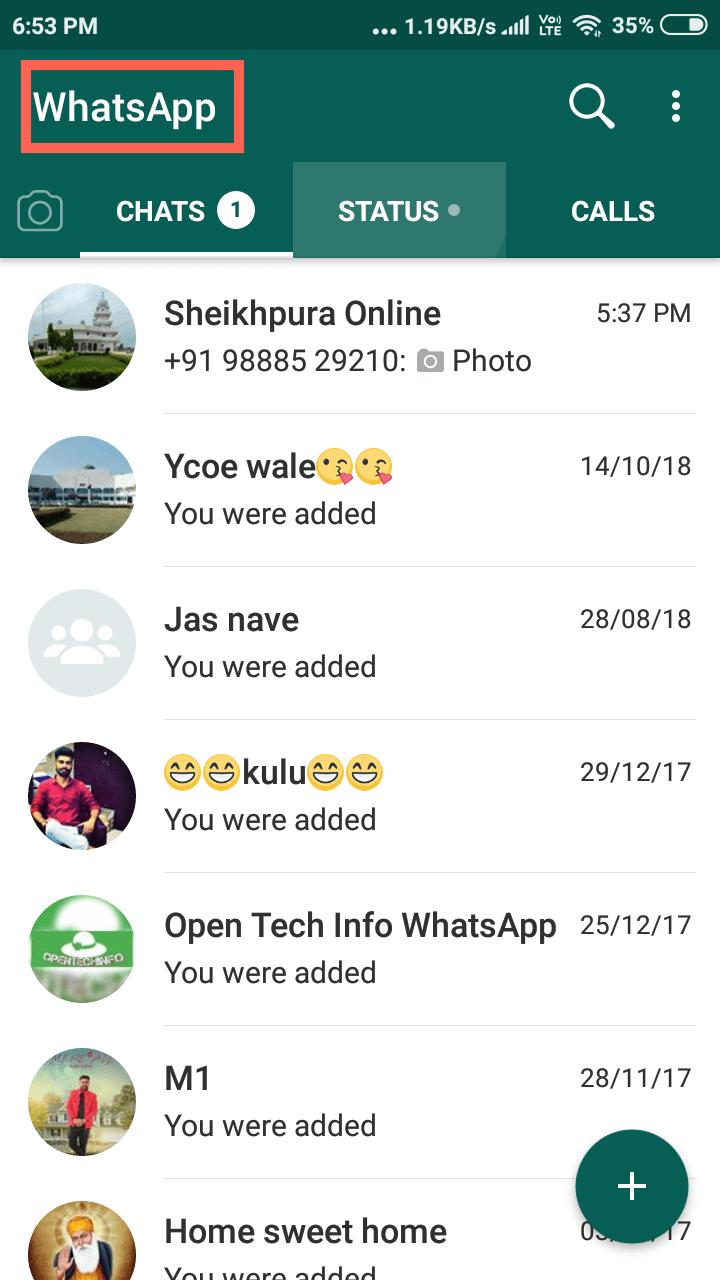 fmwhatsapp chat