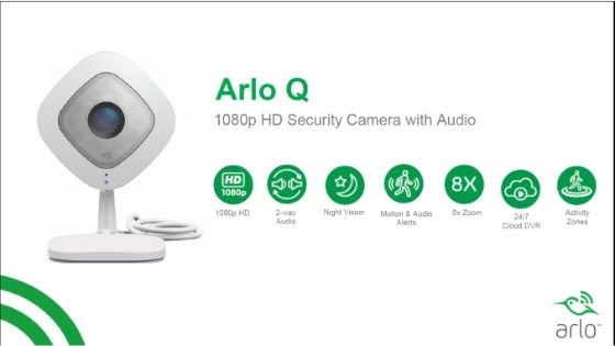 NetGear Arlo Q Smart Home Devices