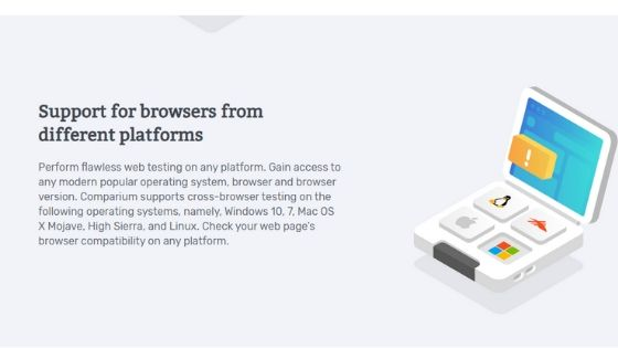 DIFFERENT WEB BROWSER SUPPORT