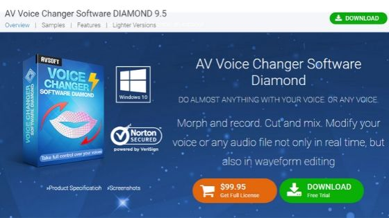 AV Voice Changer Software for Discord