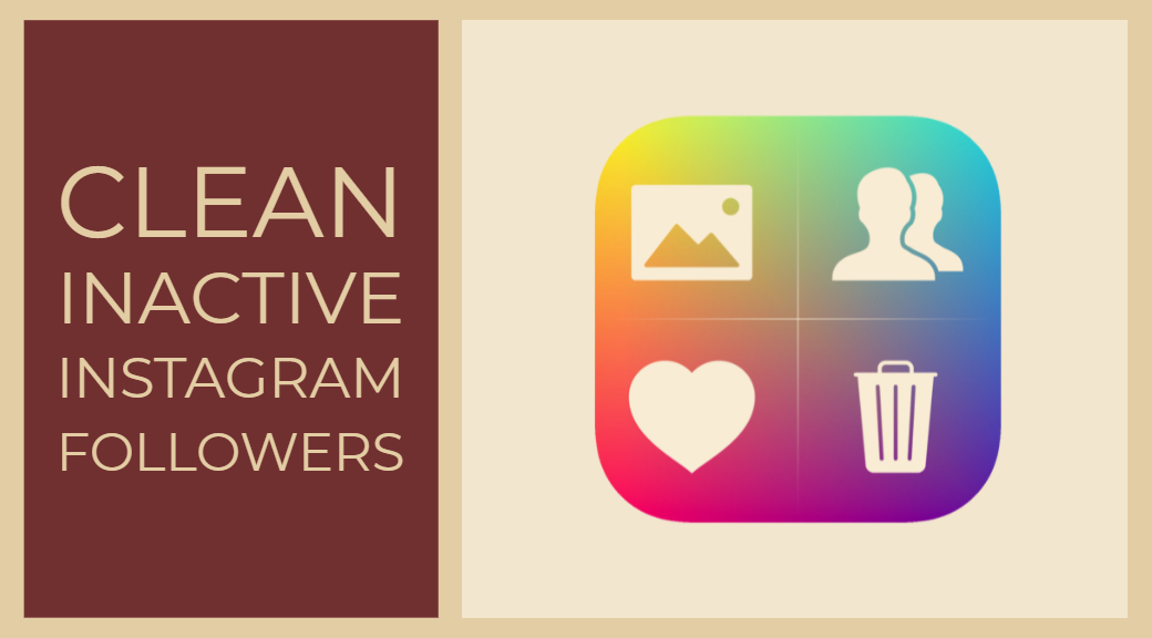 clean inactive instagram followers