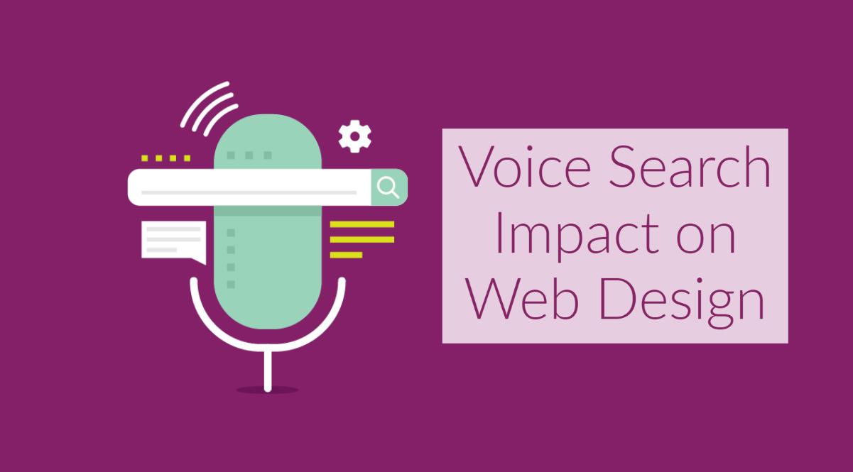 voice search impact on web design