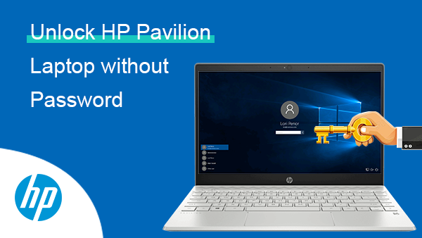 Unlock HP Pavilion Laptop without Password