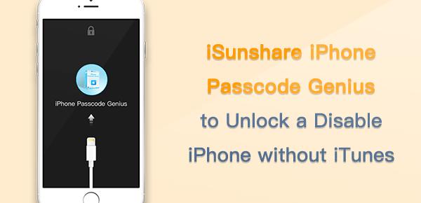 isunshare iphone passcode genius