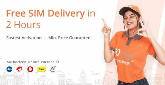Free SIM Delivery with 10digi