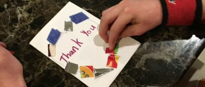 How to Craft Christmas Thank You Cards