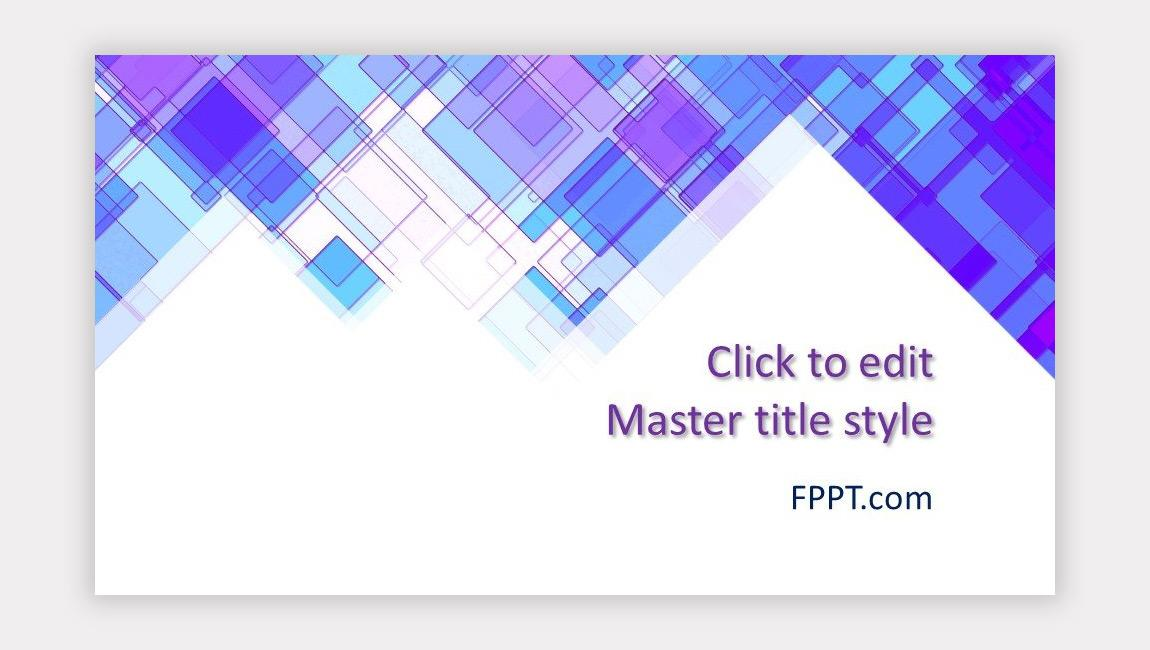 Free Abstract PPT Template