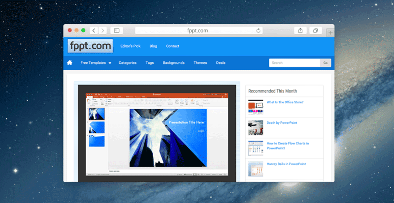 Free Presentation Templates for PowerPoint