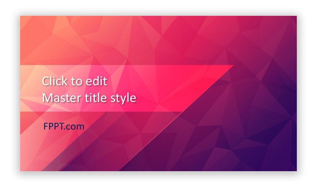 Visually appealing slides