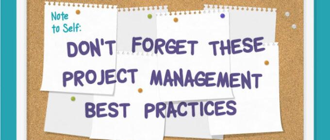 Project Management Best Practices Infographic